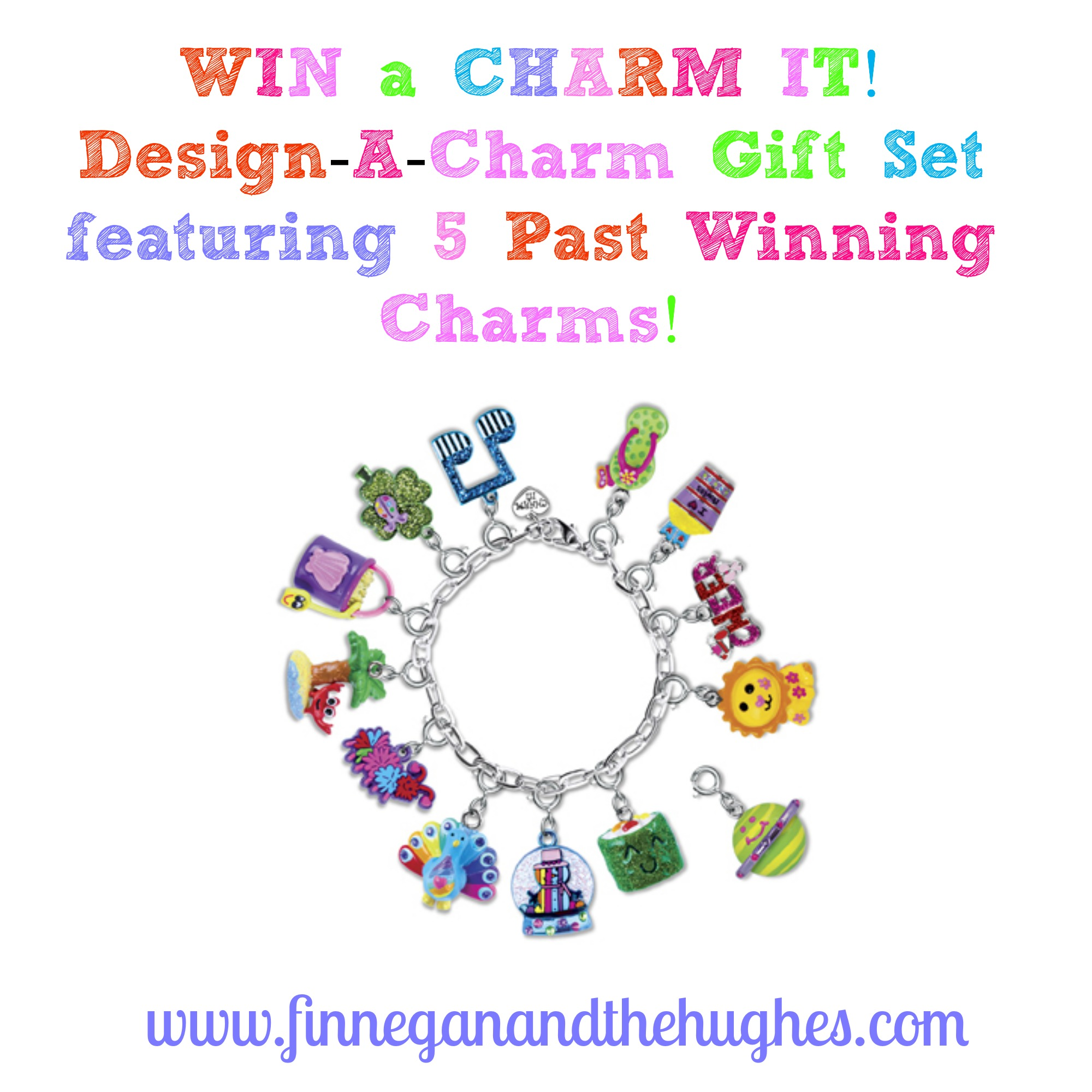 CHARM IT!  Crayola Creativity Design-A–Charm Collection and Giveaway!!