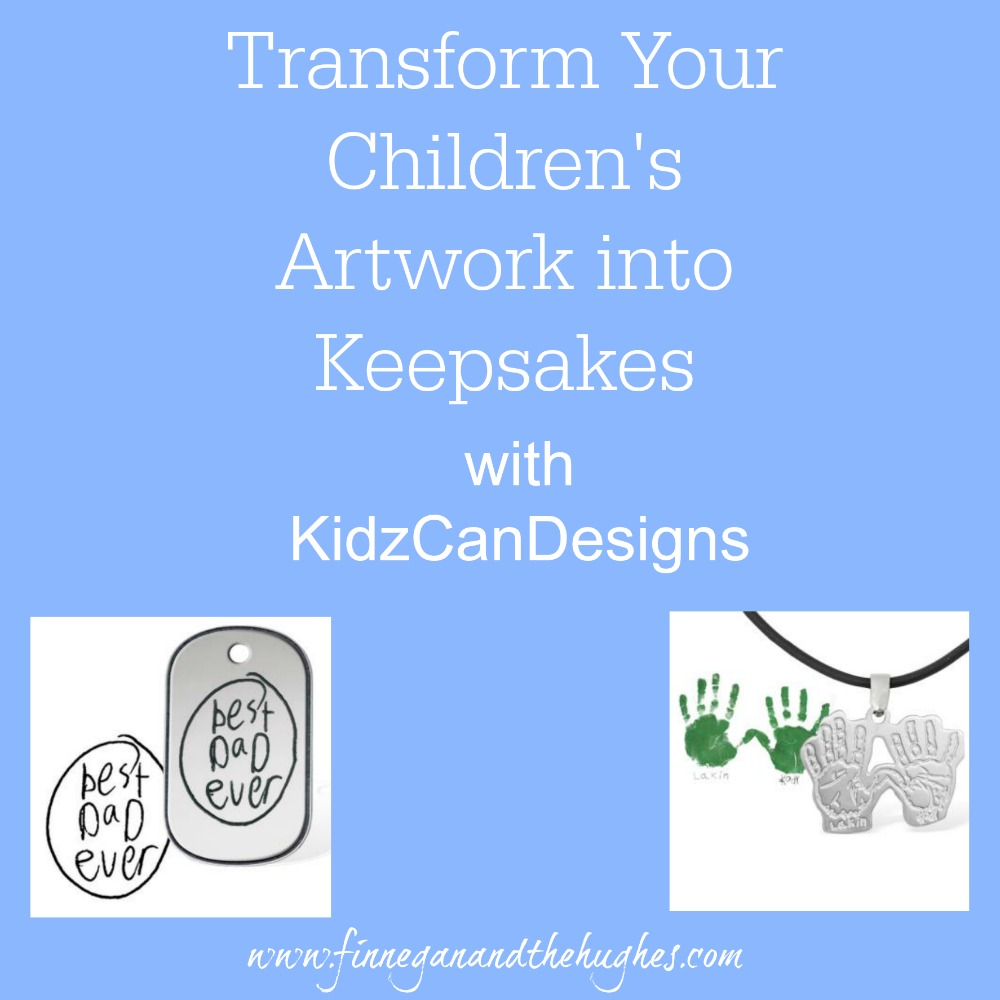 Transform Your Child's Artwork into Keepsakes