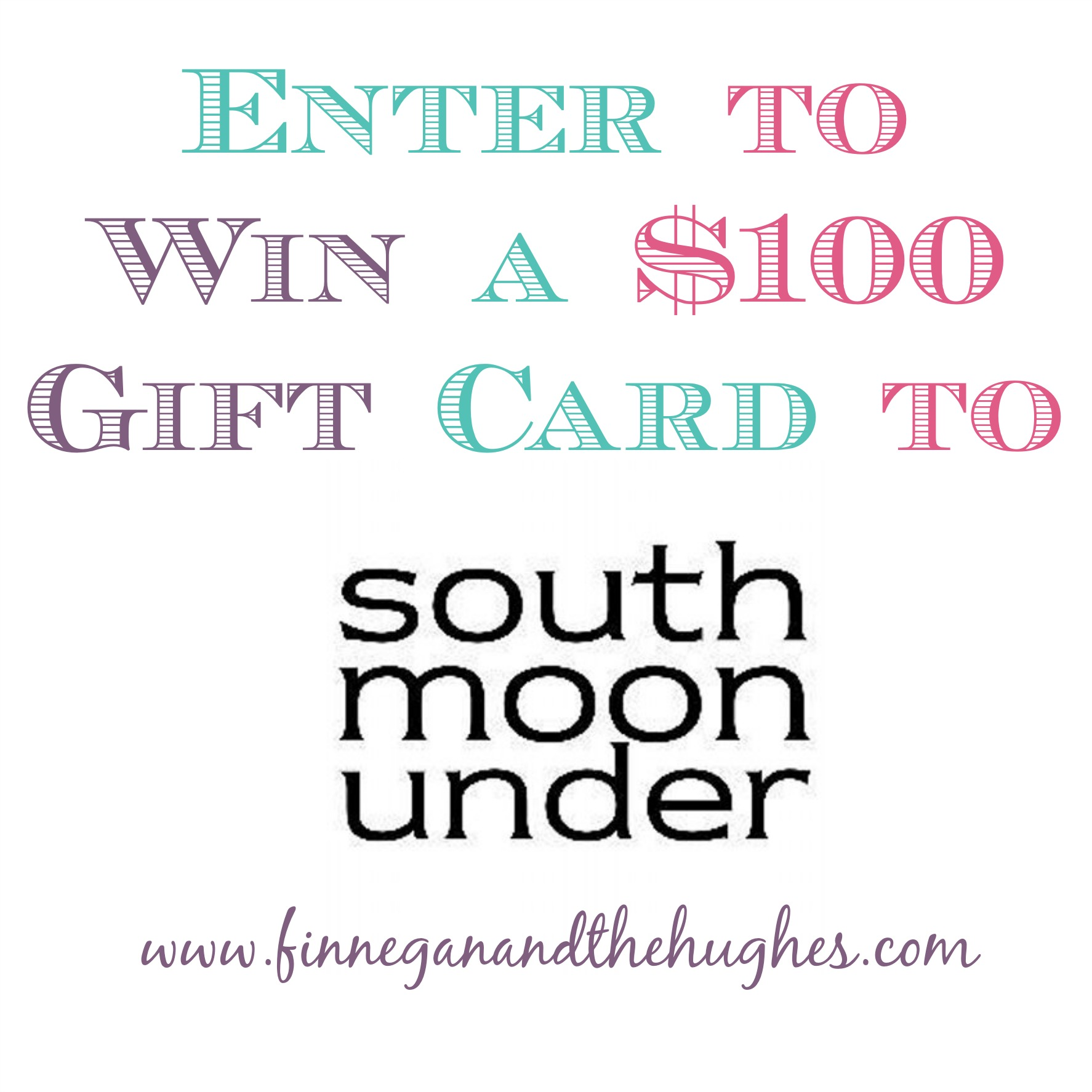 South Moon Under {$100 Gift Card Giveaway}