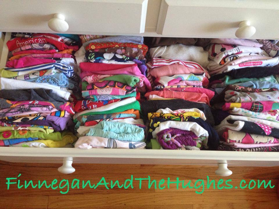 Organizing Kids Drawers
