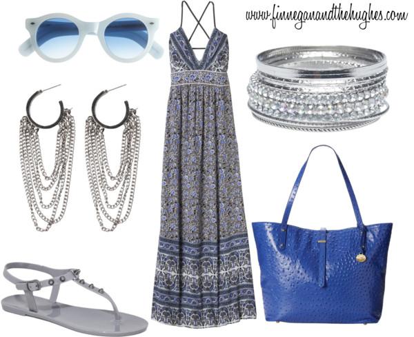Loving Blue and Maxi Dresses