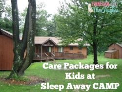 Care Packages for Kids at  Sleep Away CAMP