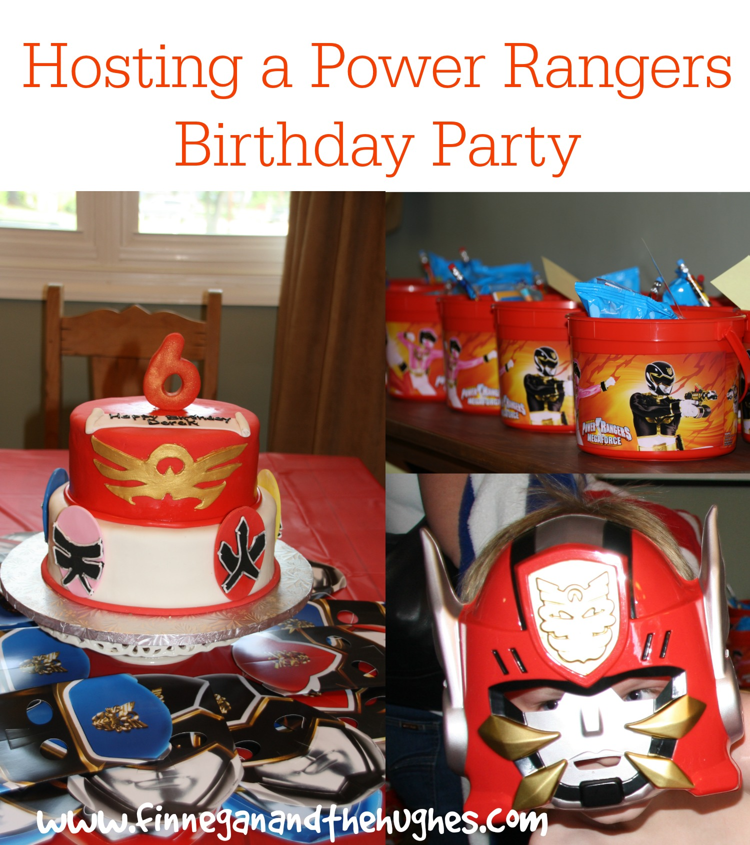 Hosting a Power Ranger Birthday Party