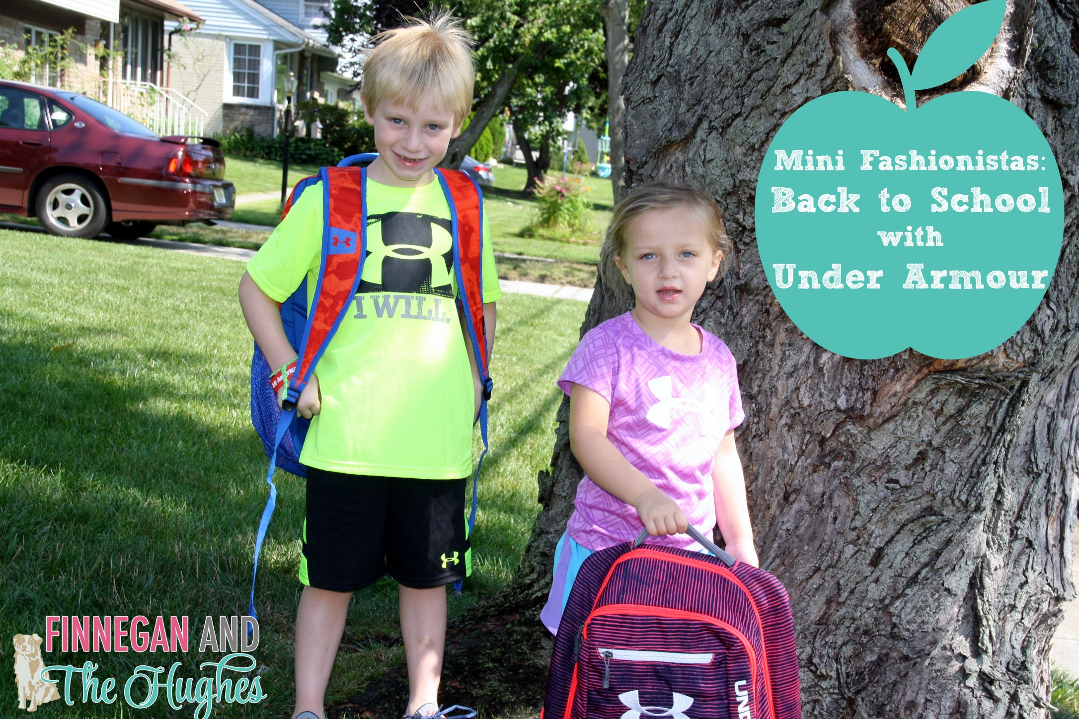 Mini Fashionistas: Back to School with Under Armour #UANext