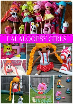 New Lalaloopsy Girls Preview