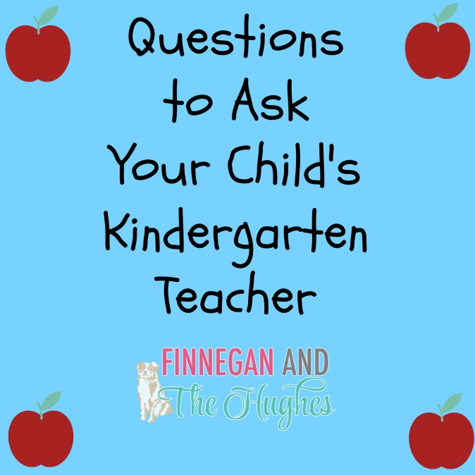 Questions to Ask Your Child's Kindergarten Teacher