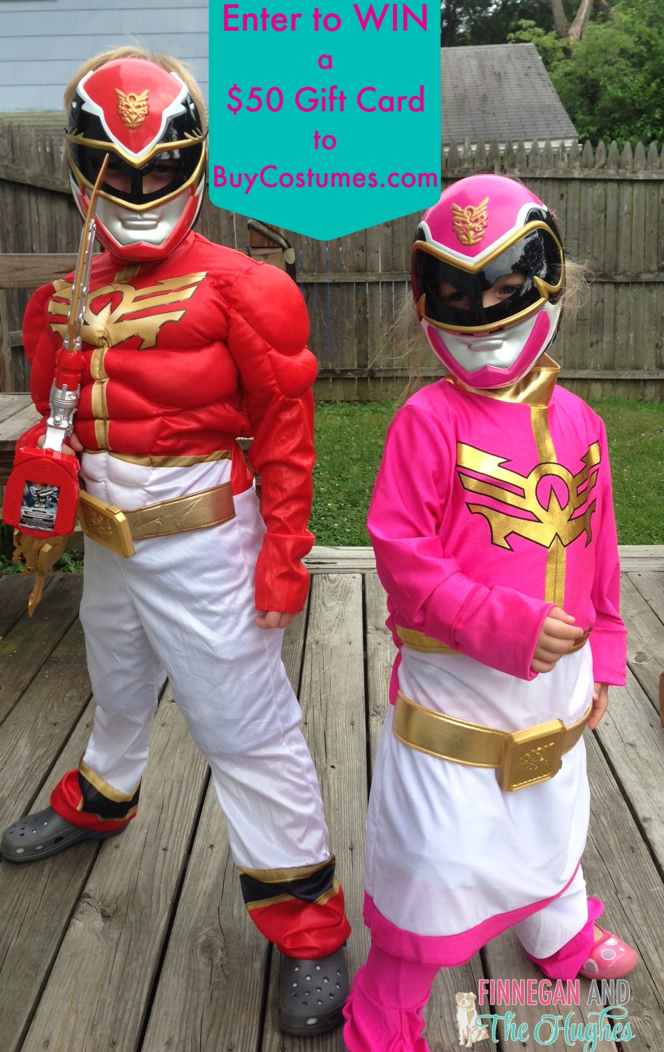 Go Go Power Rangers {Giveaway}