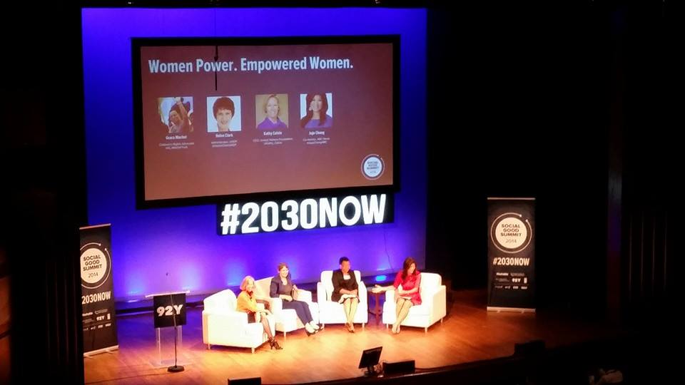 Listening to Women Power. Empowered Women at #2030NOW