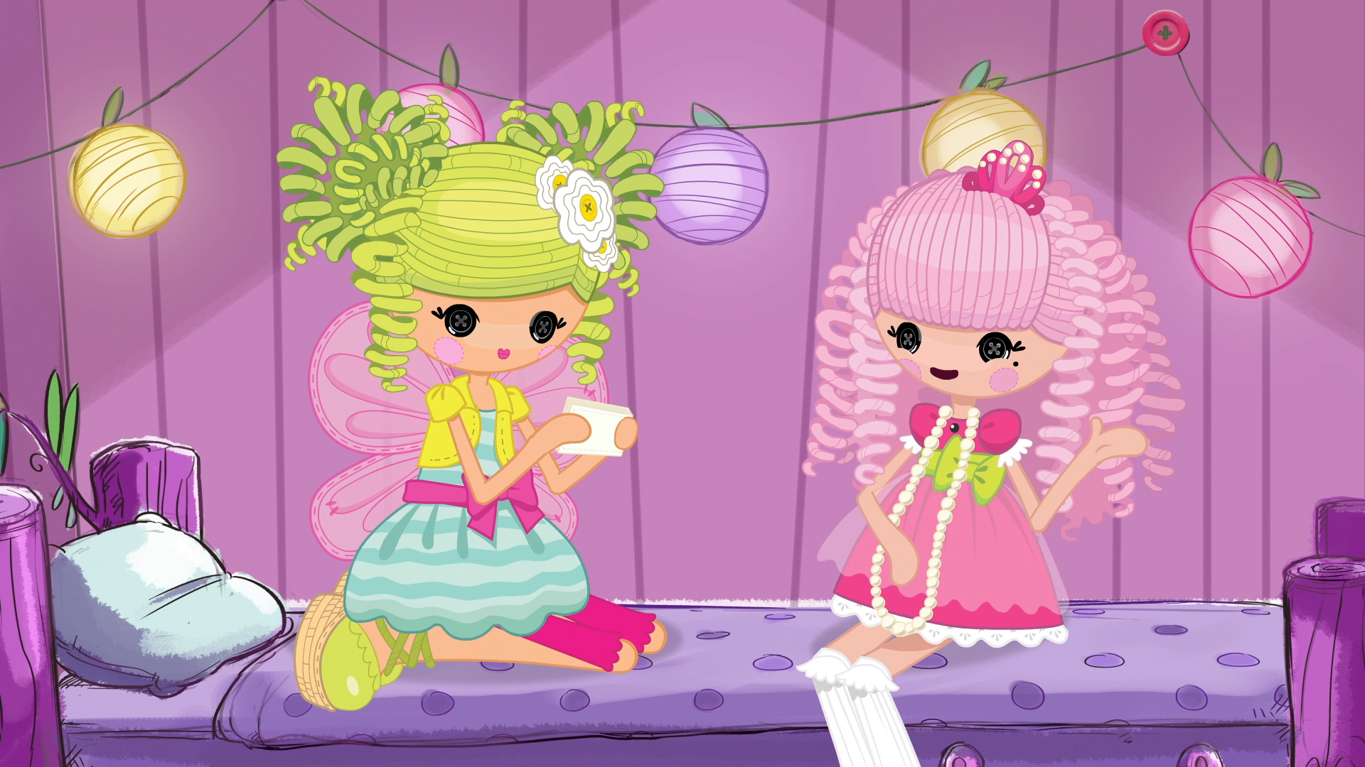 Lalaloopsy Girls Movie on Nickelodeon!