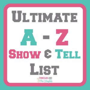 show and tell letter u the ultimate show and tell a to z list 24844 | Ultimate A to Z Show and Tell List 300x300