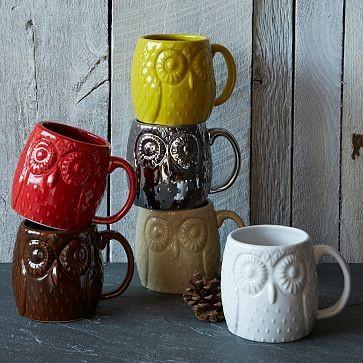 Figurative Owl Mug from West Elm