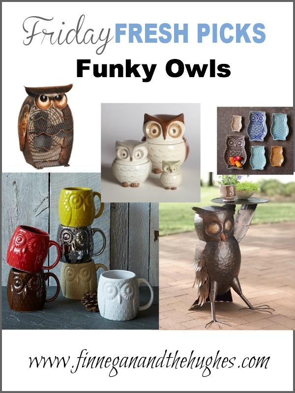 Fridays Fresh Picks Funky Owls