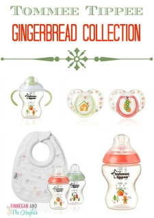 The Gingerbread Collection from Tommee Tippee!