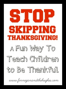 STOP SKIPPING THANKSGIVING!!  Be Thankful with #TanksofThanks