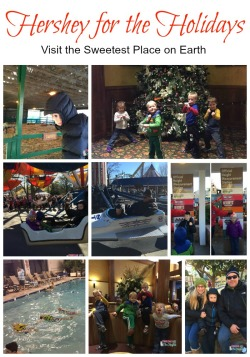 Hershey Park for the Holidays