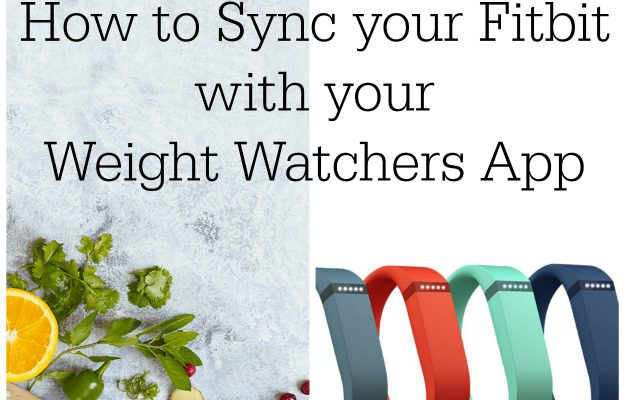 Syncing Your Fitbit with Your Weight Watchers App