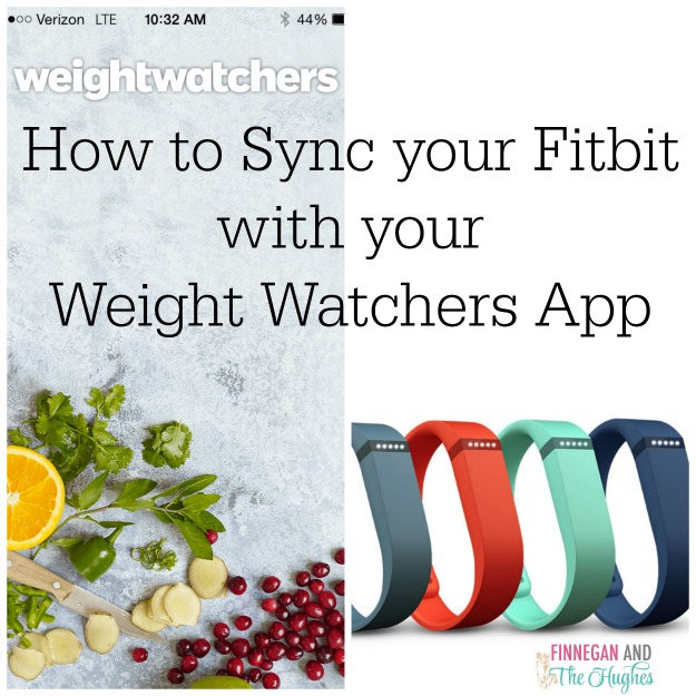 Syncing Your Fitbit With Your Weight Watchers App Finnegan And The