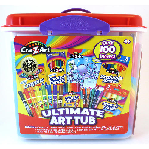 Cra-Z-Art Super Coloring Tub (Color:Styles May Vary) CRA-Z-ART