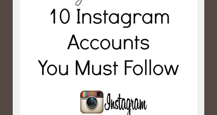 Friday's Fresh Picks: 10 Instagram Accounts You Must Follow