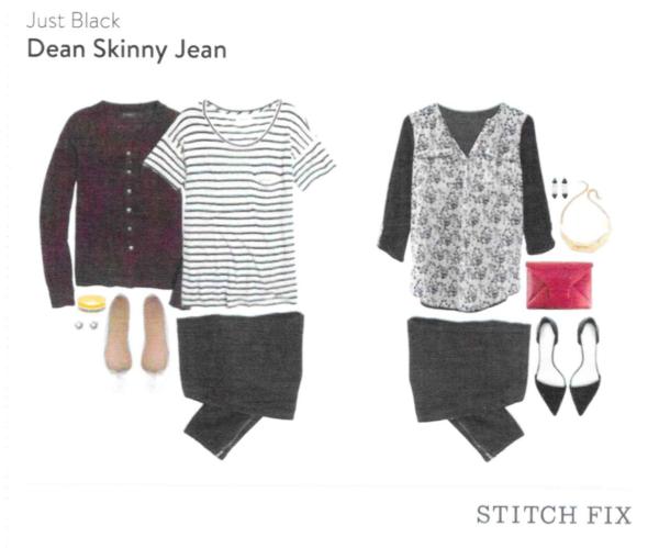 Just Black Dean Skinny Jean Stitch Fix