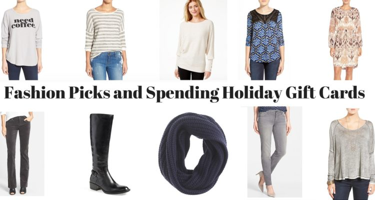 Fashion Picks and Spending Holiday Gift Cards