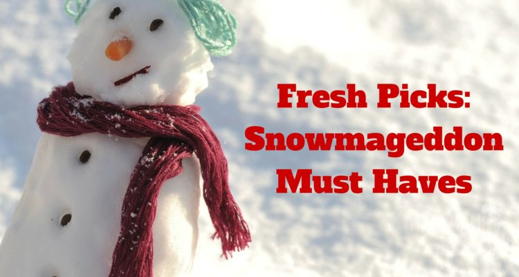 Fresh Picks: Snowmageddon Must Haves