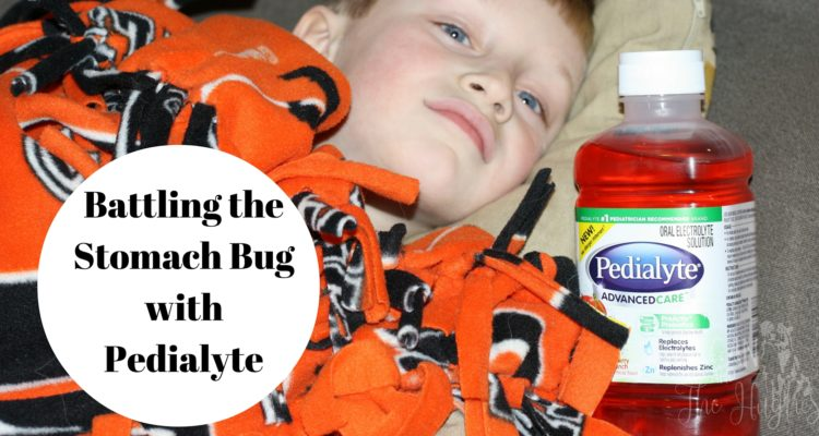 Battling the Stomach Bug with Pedialyte