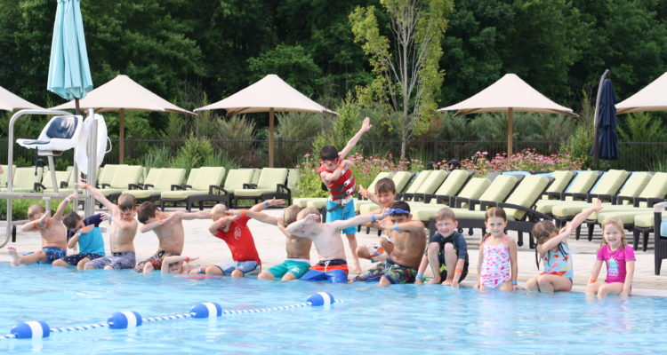 Life Time Athletic Swim and Ultimate Hoops Birthday Party