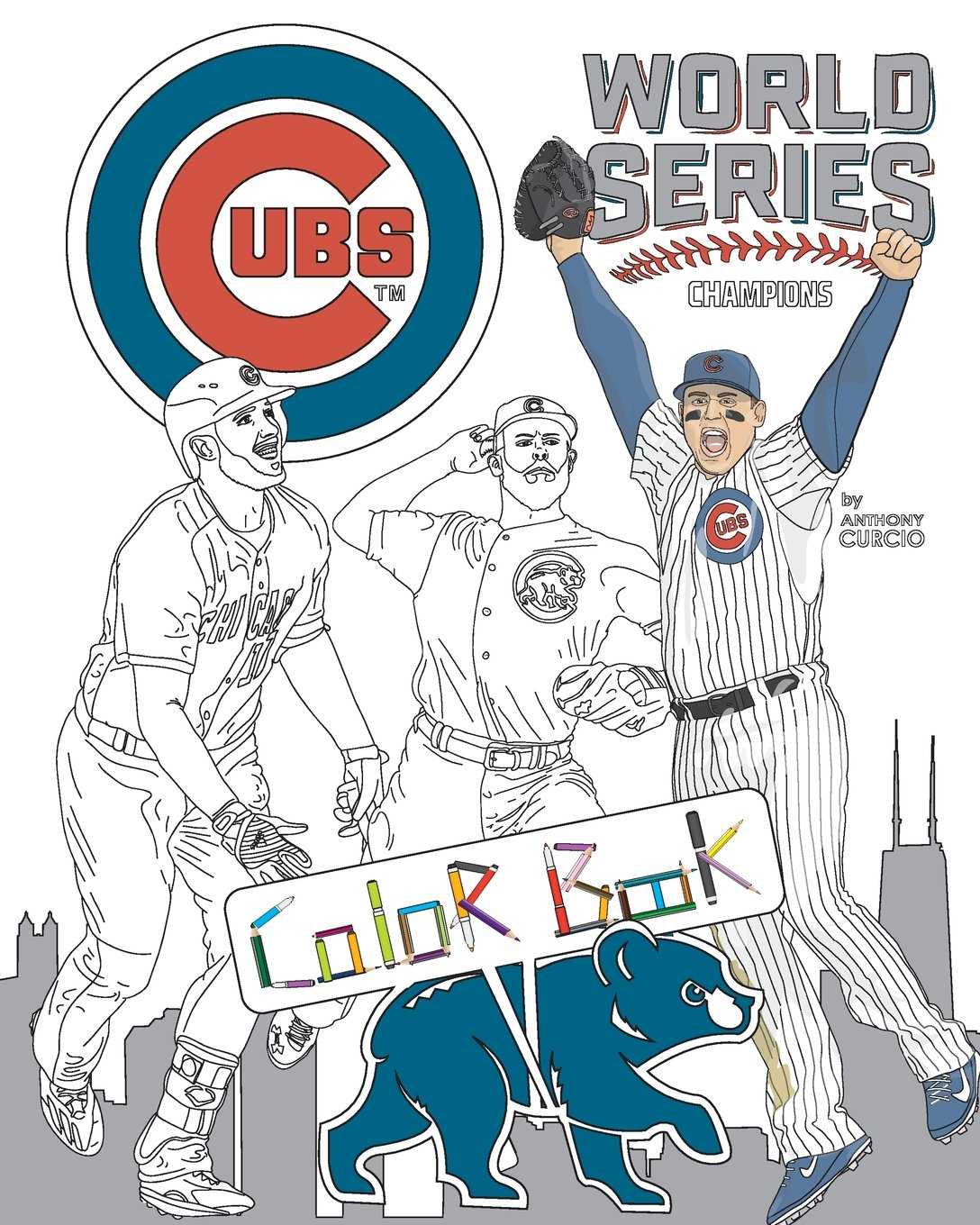 Cubs Coloring Book
