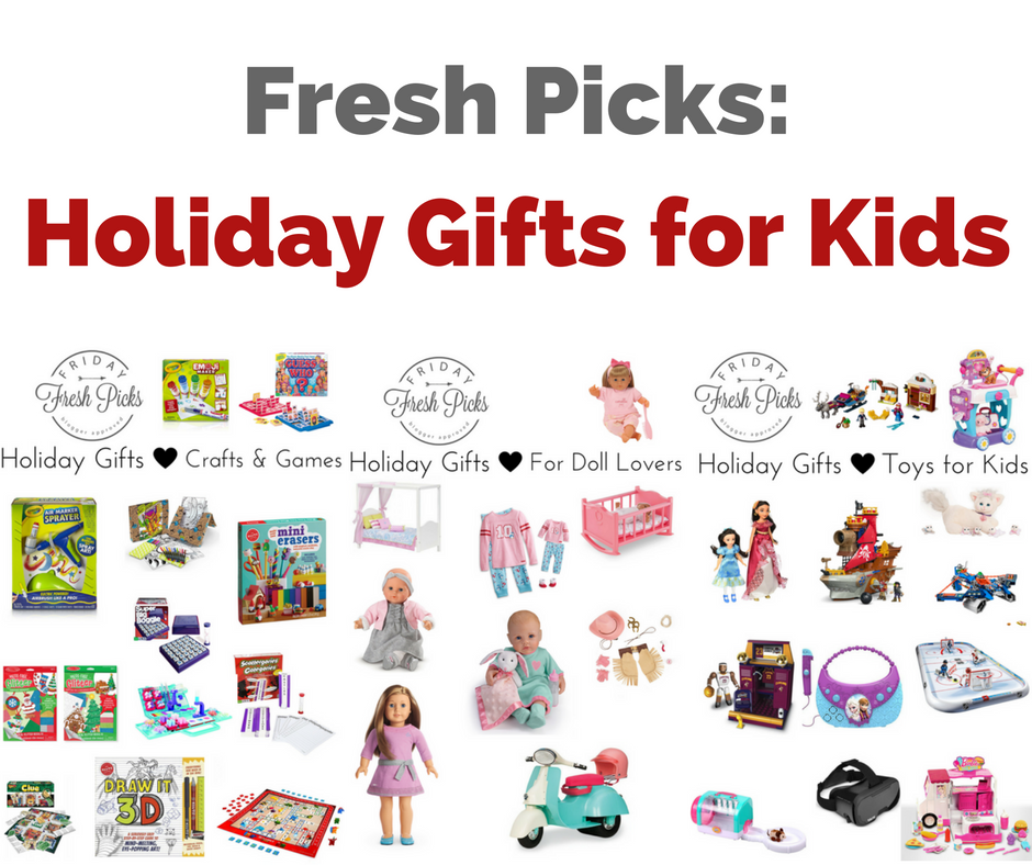 Fresh Picks: Holiday Gifts for Kids