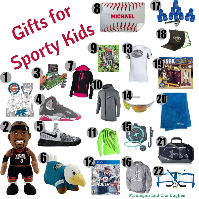 Gifts Ideas For Sporty Kids