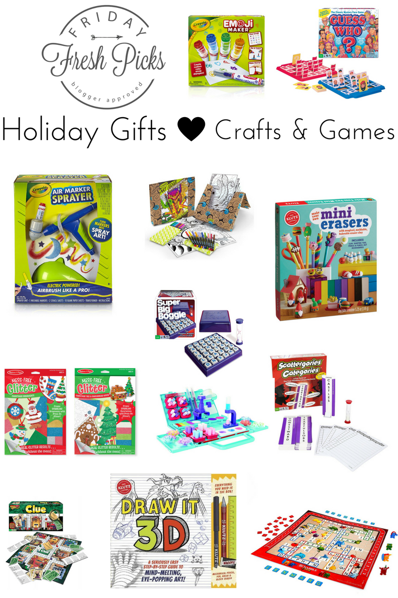 Holiday Gifts: Crafts and Games