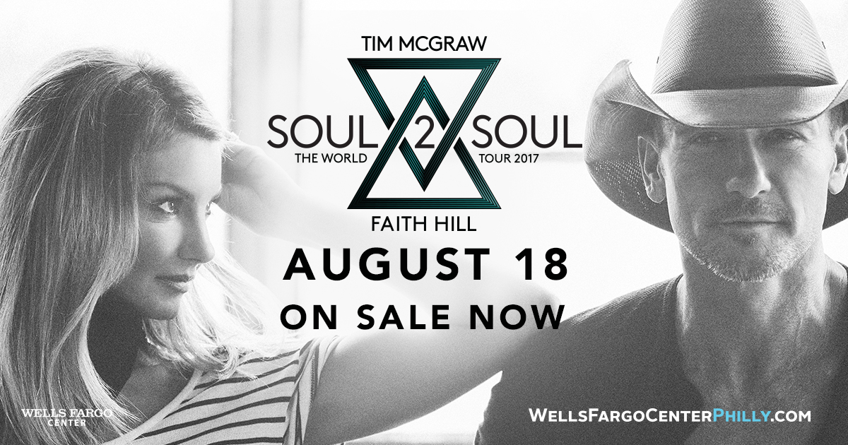 Tim McGraw and Faith Hill Soul 2 Soul World Tour at Wells Fargo Center PLUS a TICKET GIVEAWAY!!